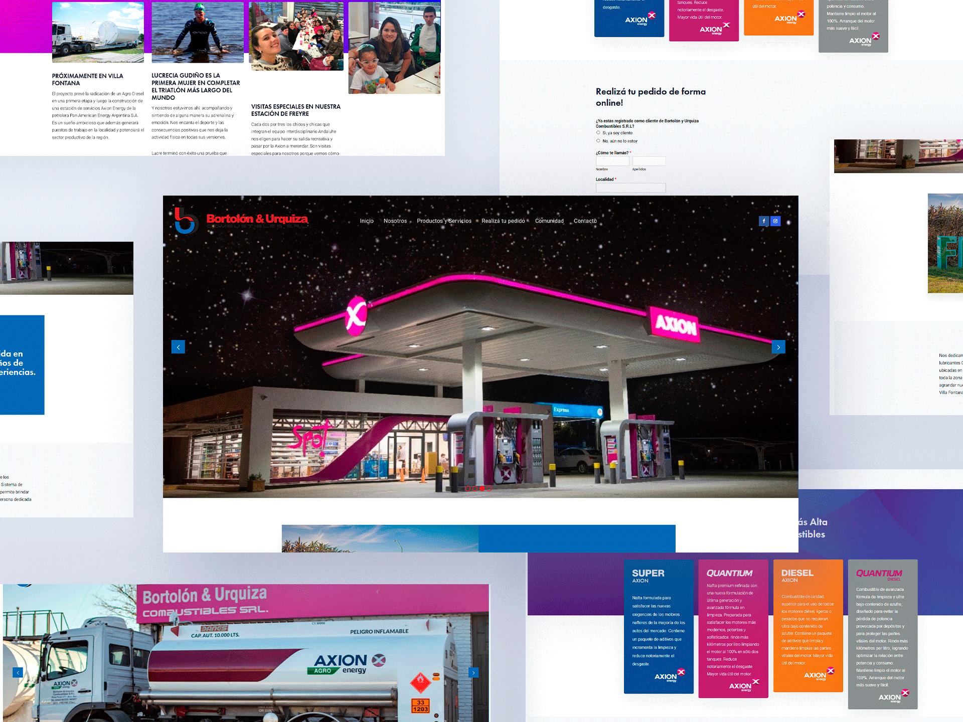 Bortolón & Urquiza – Combustibles